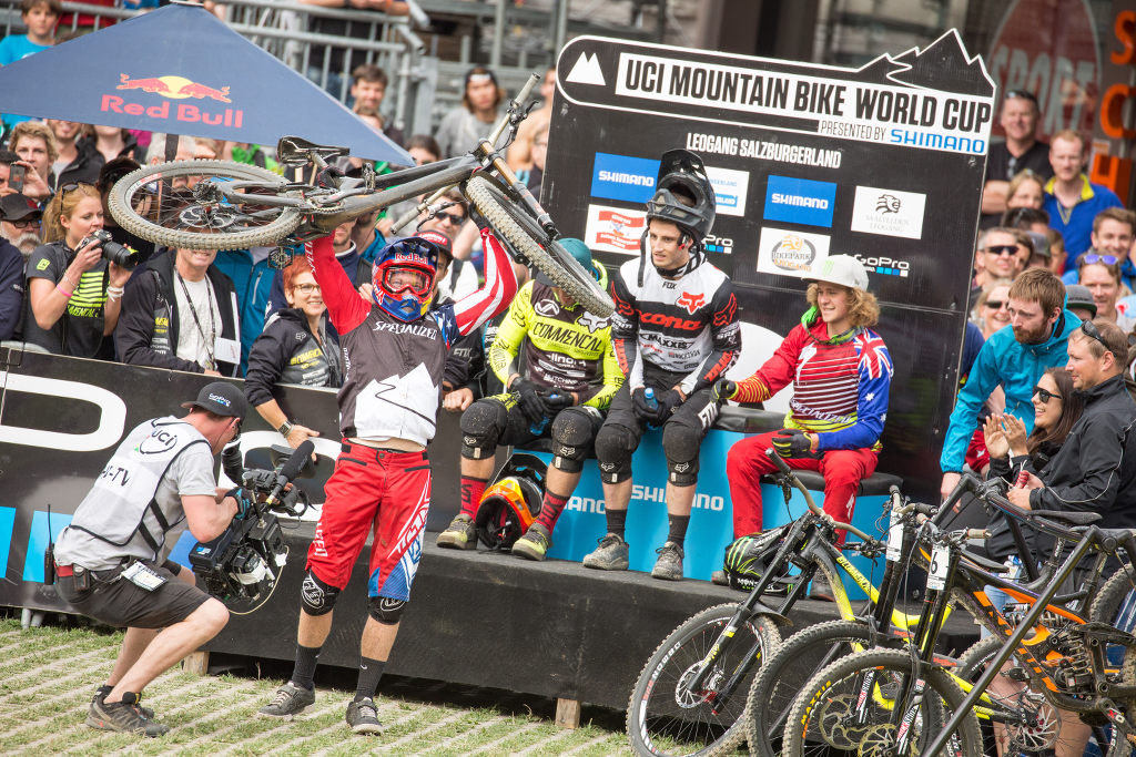 UCI_WC_Leogang_Aaron_Gwin_Hotseat_by_Michael_Marte