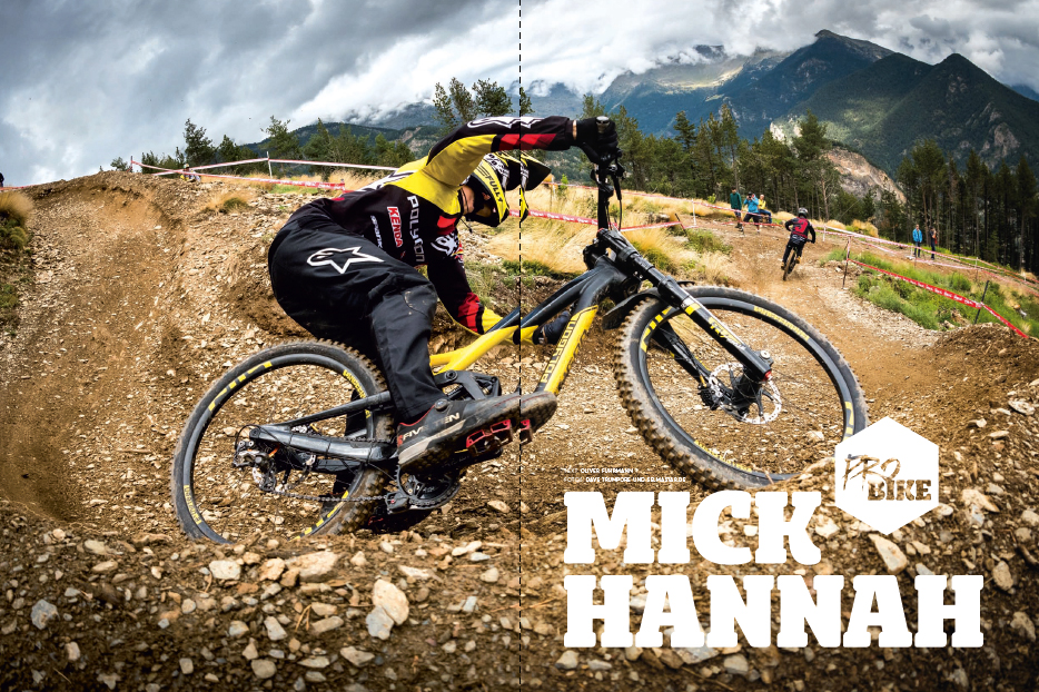 Pro Bike Mick Hannah