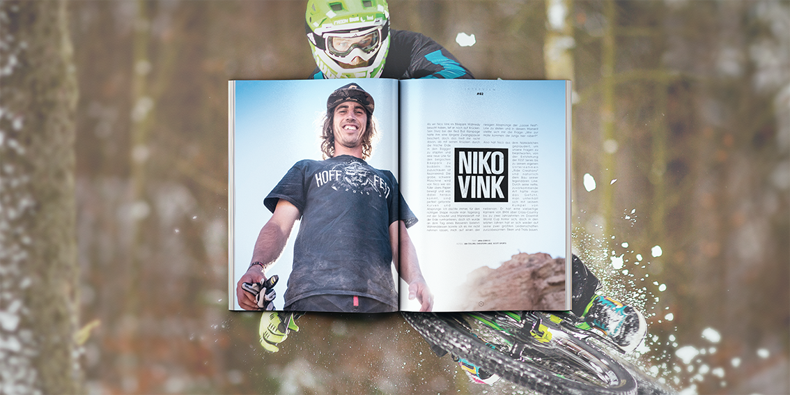 #002 Prime Mountainbiking Magazine - Niko Vink