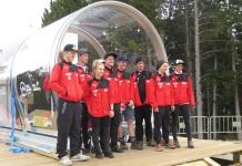 Das deutsche Downhill- Team