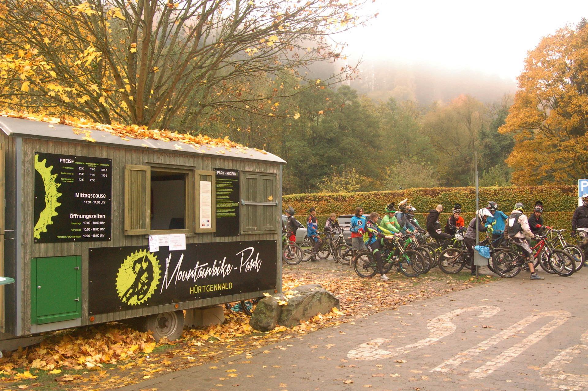 Bikestation in Hürtgenwald