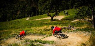 Große Vielfalt: Von Bikepark-Lines über Singletrails bis hin zu technischen, alpinen Abfahrten hat Saalbach alles zu bieten.