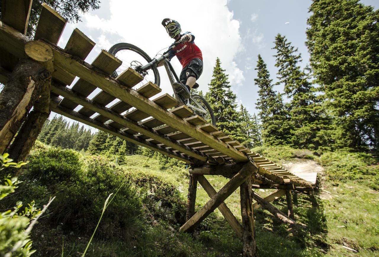 """Die Graubündner """"Bike-Region Flims ist auf alle Fälle eine Reise wert."""""""