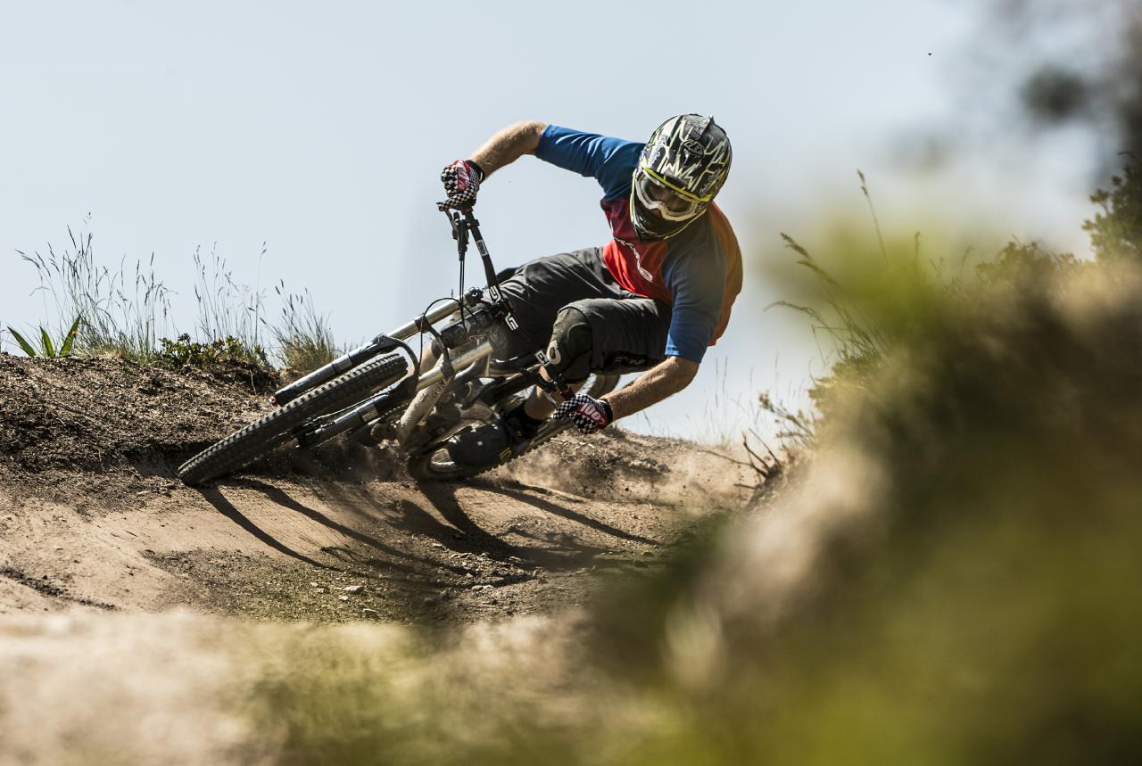 Die Region um Flims ist besonders abwechslungsreich für Biker jeder Fasson.