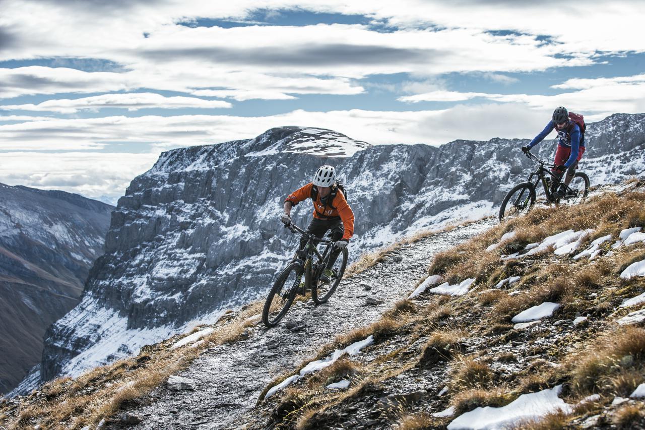 Die Graubündner Bike-Region Flims ist auf alle Fälle eine Reise wert.