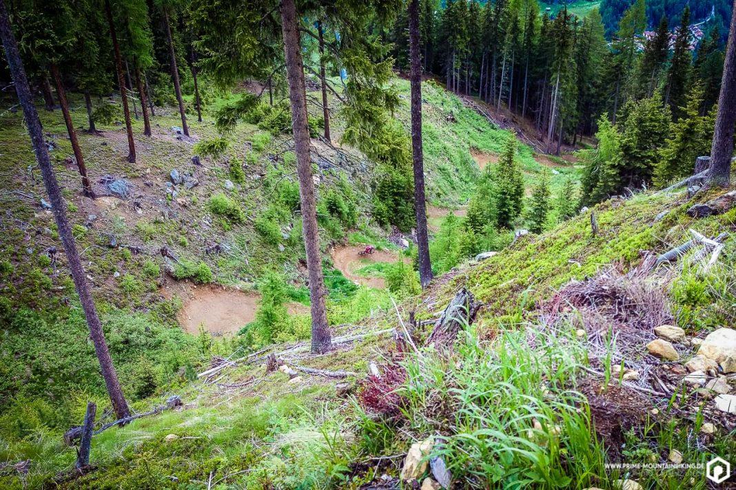 Das Wegenetz der Bike Republic Sölden ist nun um zwei angelegte Lines reicher. Und die Teäre Line längst ein Klassiker unter den Freeride-Strecken.