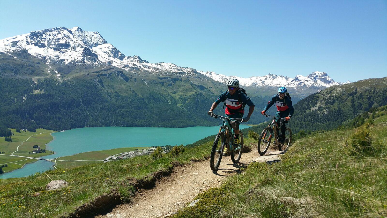 Die Trail Games richten sich vor allem an Biker, die Sinn für Geselligkeit und Spass unter Gleichgesinnten haben.