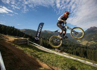 Beim international stark besetzten iXS European Downhill Cup im Bikepark Leogang wird wieder um jede Sekunde gekämpft.