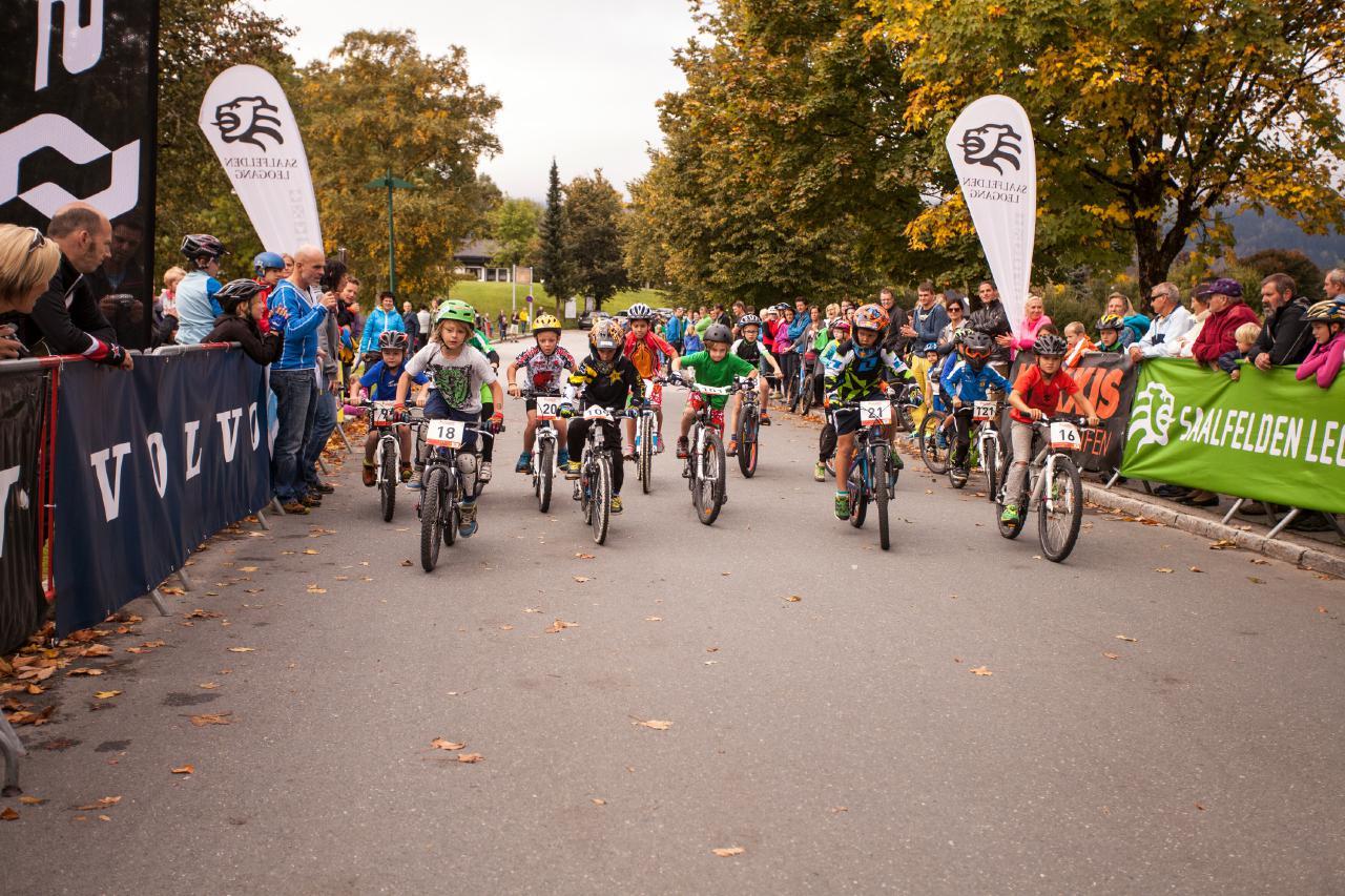 """Auch der Bike-Nachwuchs kommt beim """"Biketember Festival"""" nicht zu kurz."""