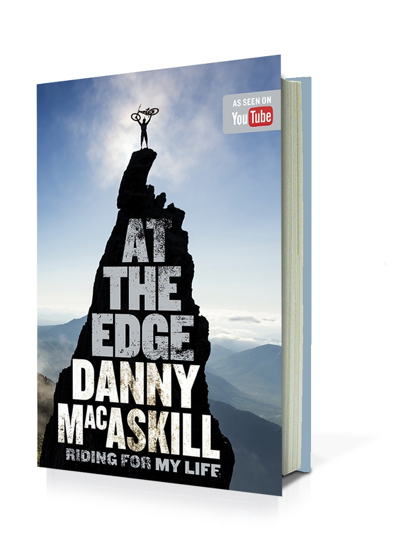 "Am 29. September erscheint mit ""AT THE EDGE – Riding for My Life""! die Autobiographie des wohl berühmtesten Mountainbikers der Welt, Danny MacAskill."
