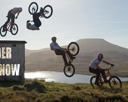 """AT THE EDGE– Riding for My Life"" Danny MacAskill Autobiography"