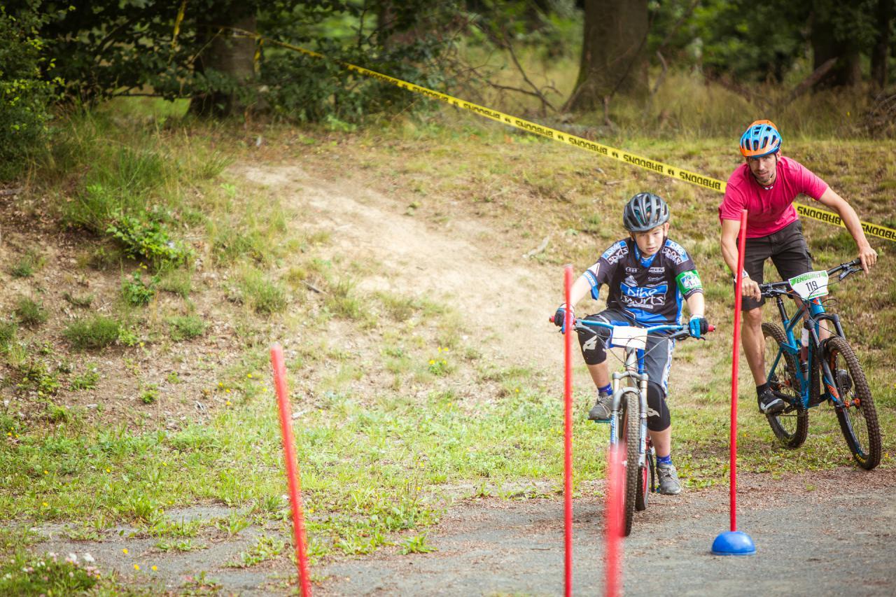 Die Aktion für die Kids begeisterte sowohl die kleinen als auch die großen Mountainbiker.