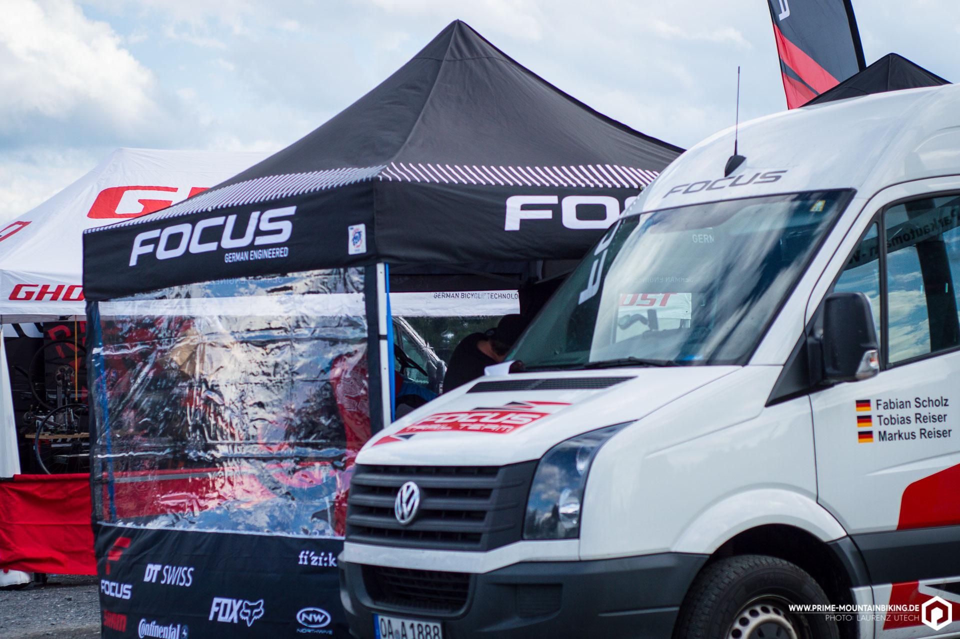 Focus und Ghost warten in diesem Jahr beide mit starker, deutscher Fahrerbesetzung auf.
