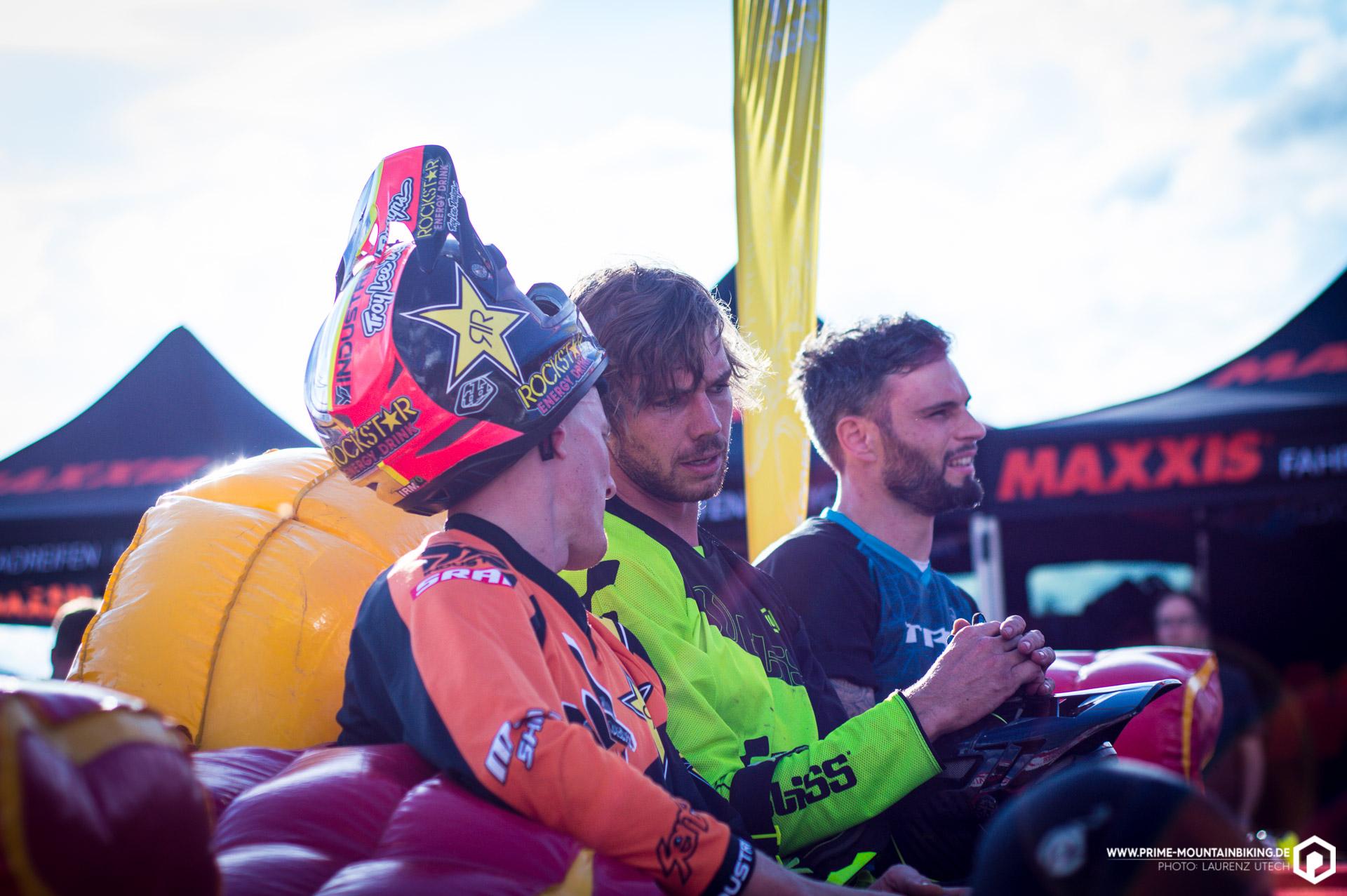 Nicht ganz unerwartet übernahm Downhill-Racer Matt Walker vom Cube Global Squad zwischenzeitlich den Hot Seat. Der Neuseeländer gab am Wochenende sein Enduro-Debut auf deutschem Boden und machte dabei eine sehr gute Figur.