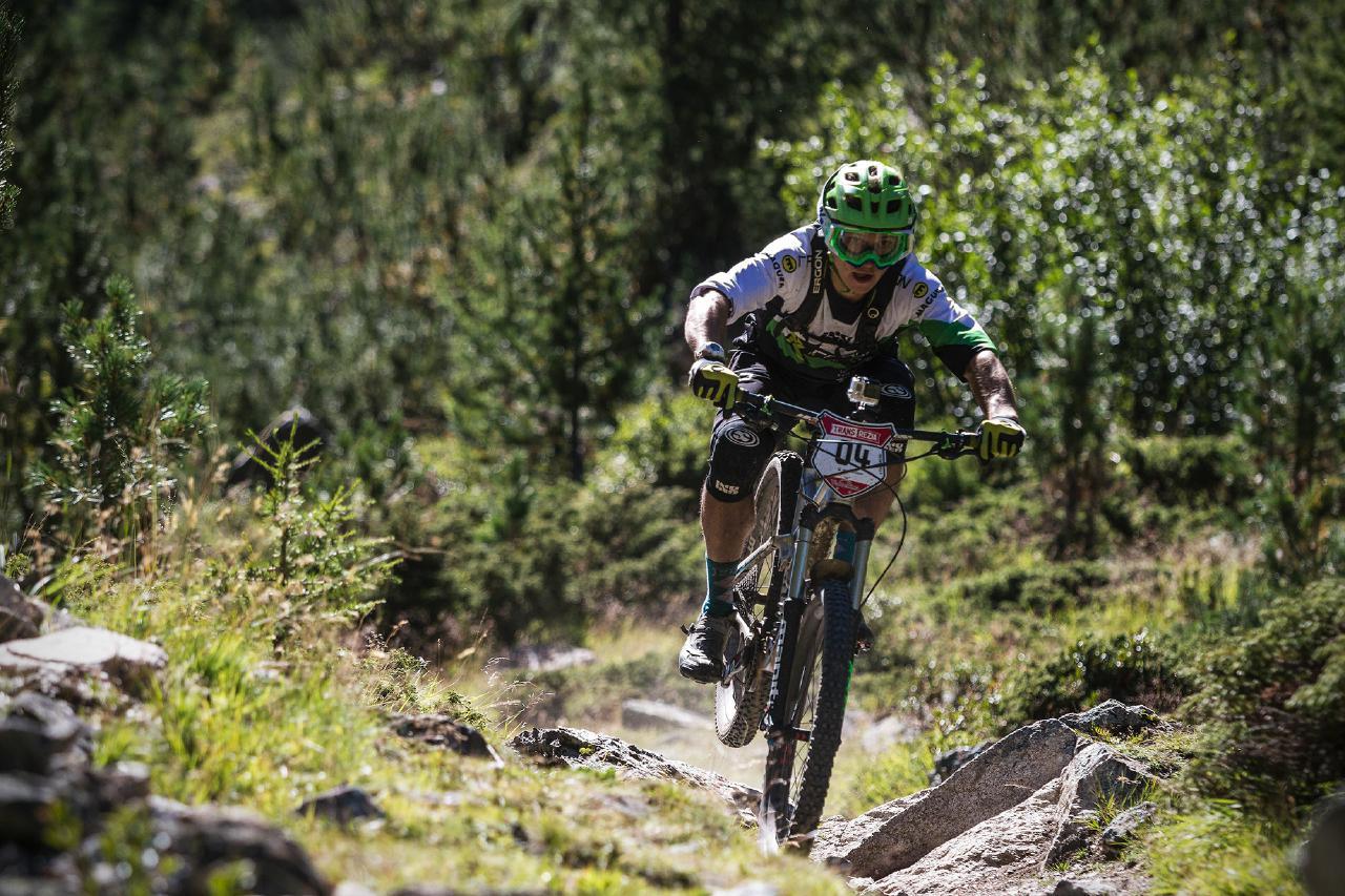 Auf den Spuren der Racer befinden sich die Teilnehmer der Trans Rezia Tour.