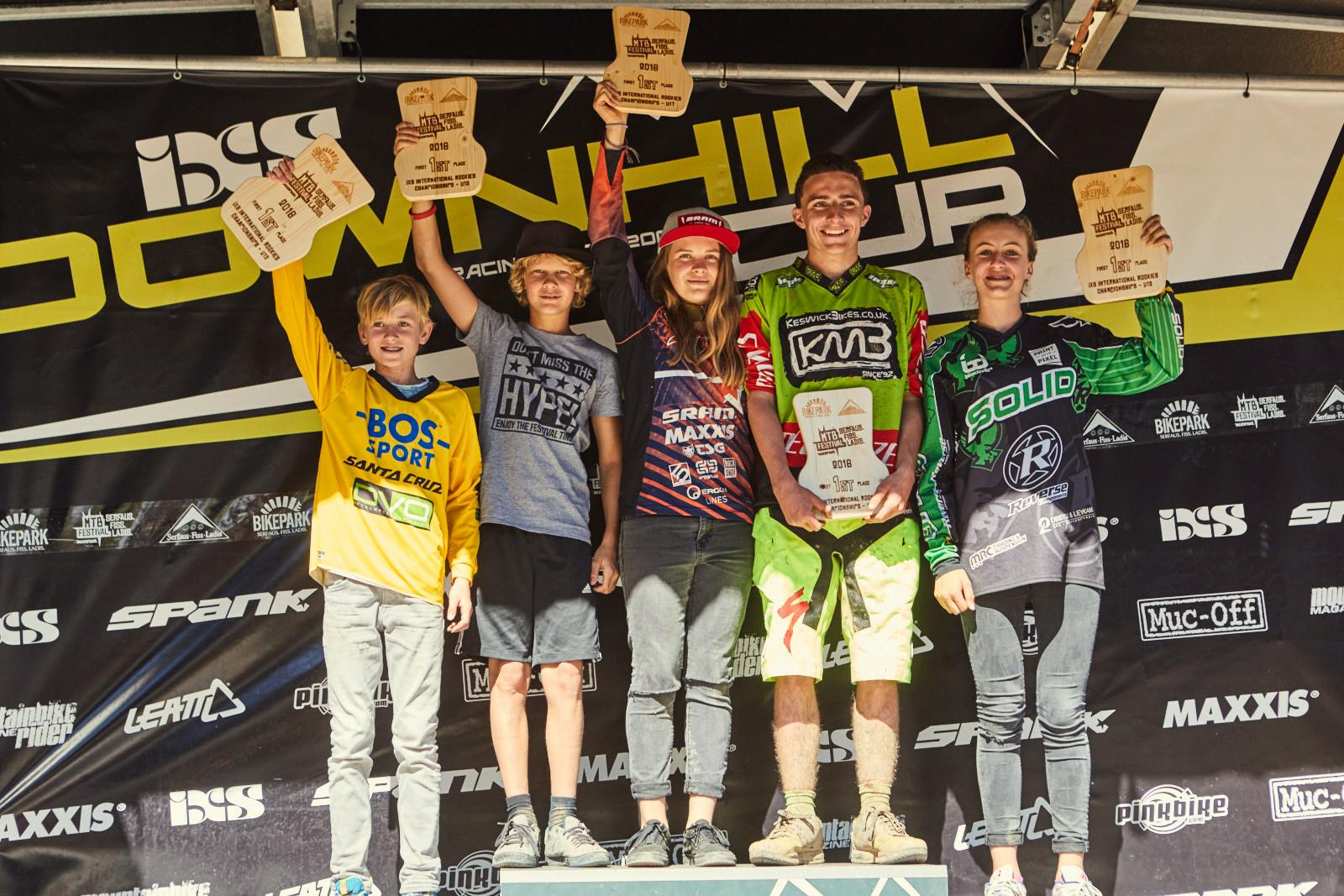 Die iXS International Rookies Champs 2016!