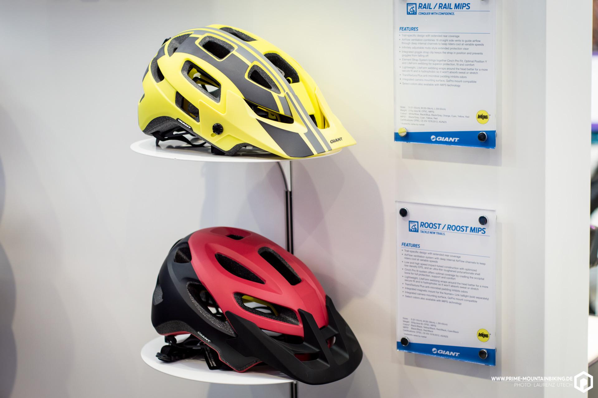 Neue Helme gibt es vom Bike-Hersteller Giant, der mit einer ganzen Reihe von neuen Zubehör-Produkten aufwarten kann. Weitere Infos dazu folgen!