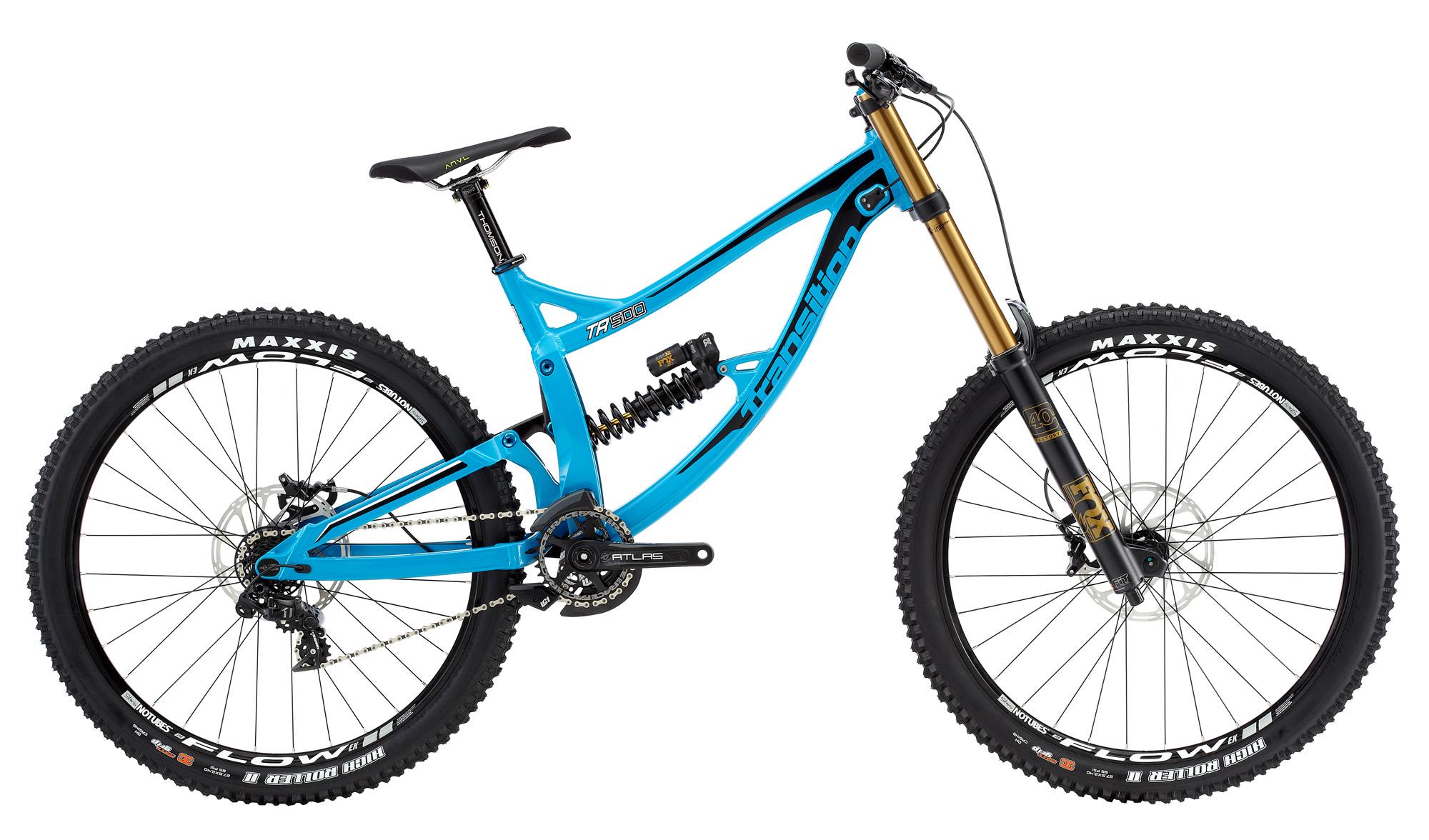 Das TR500 wird entweder als Rahmenset oder in drei verschiedenen Varianten als Komplettbike verkauft. Hier sieht man das von uns getestete Model Complete Kit 1.