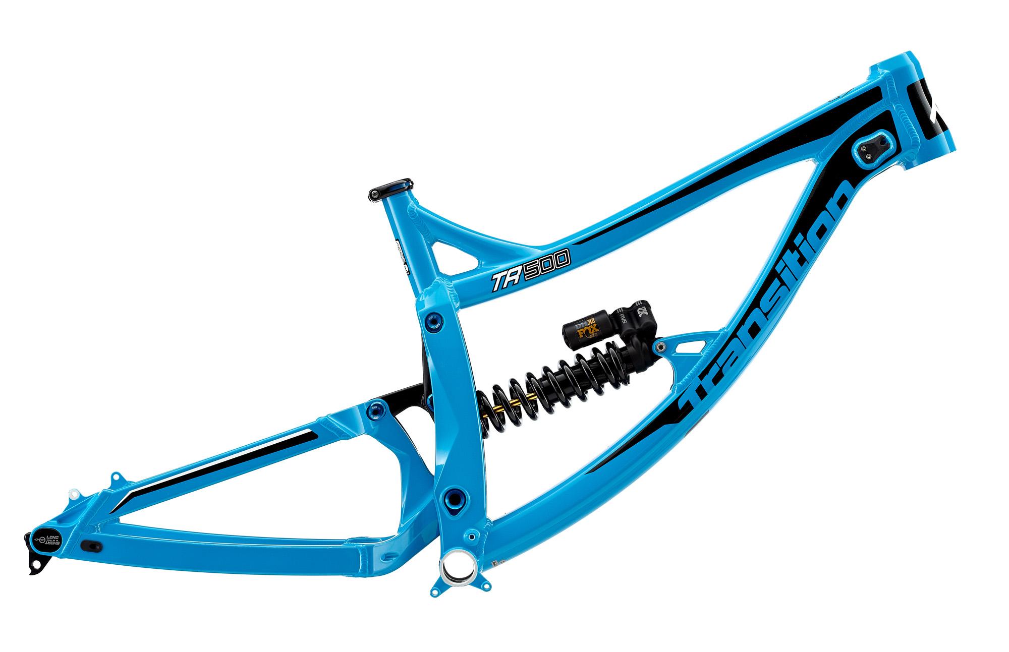 Das TR500 ist sowohl als Rahmenset, als auch als komplettes Bike erhältlich.