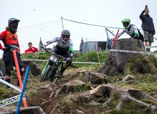 Faustin Figaret beim iXS EDC Finale in Leogang
