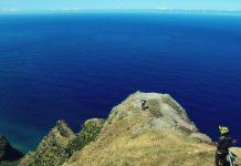 Bryan Regnier und Morgane Such auf Madeira