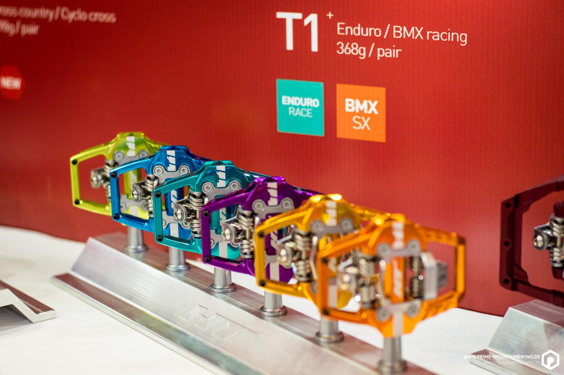 Das Pedal der Wahl von Enduro World Series Rcern wie Jerome Clementz oder Jared Graves ist das T1 Klickpedal, das auf dem eigenen Klicksystem von HT Components basiert.