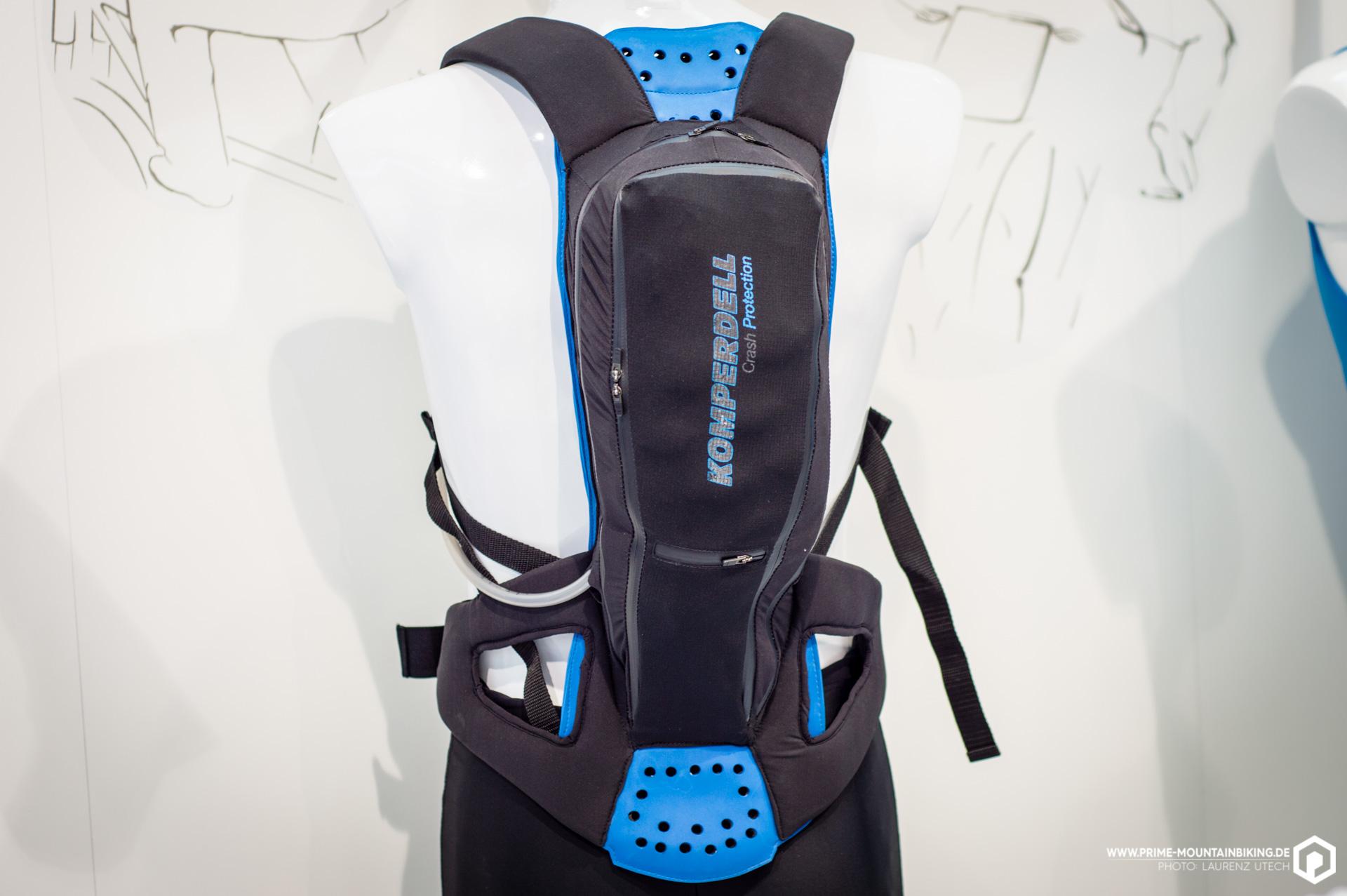 Der Protection Pack von Komperdell wurde mit besonderem Augenmerk auf die Schutzfunktion des Rucksacks entwickelt und gewann dafür den Eurobike Award 2016.