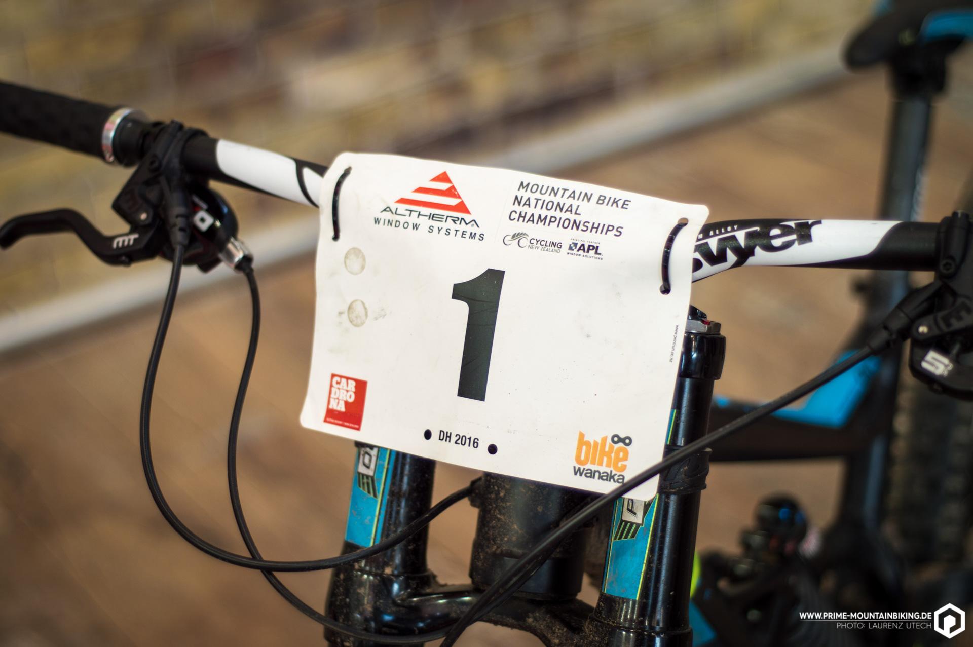 Die Nummer 1 fuhr bei den diesjährigen National Champs in Neuseeland auf den zweiten Platz mit diesem Bergamont Straitline.