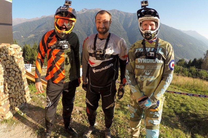 Rob Warner, Claudio Caluori, Steve Peat Course Preview