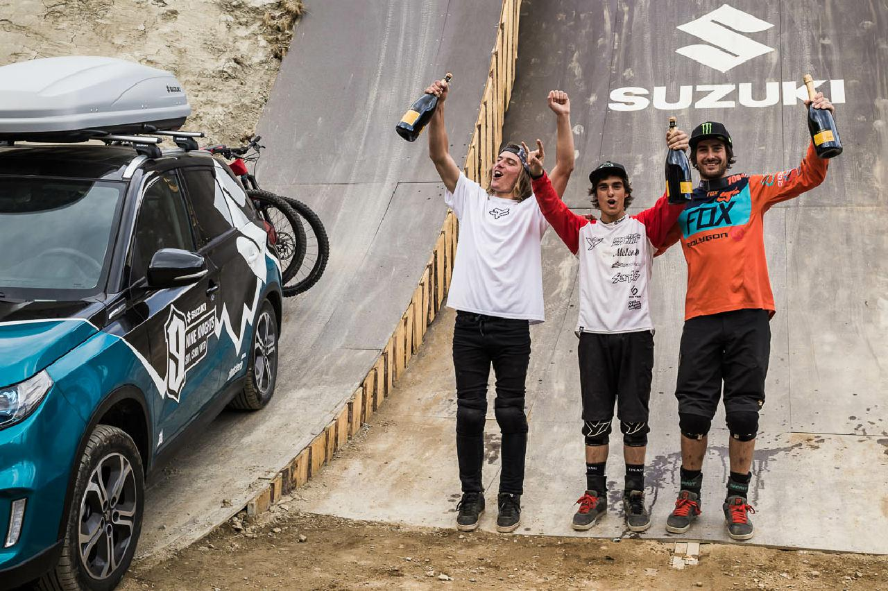 "Die ""Rulers of the Day"" bei den Suzuki Nine Knights MTB 2016:"