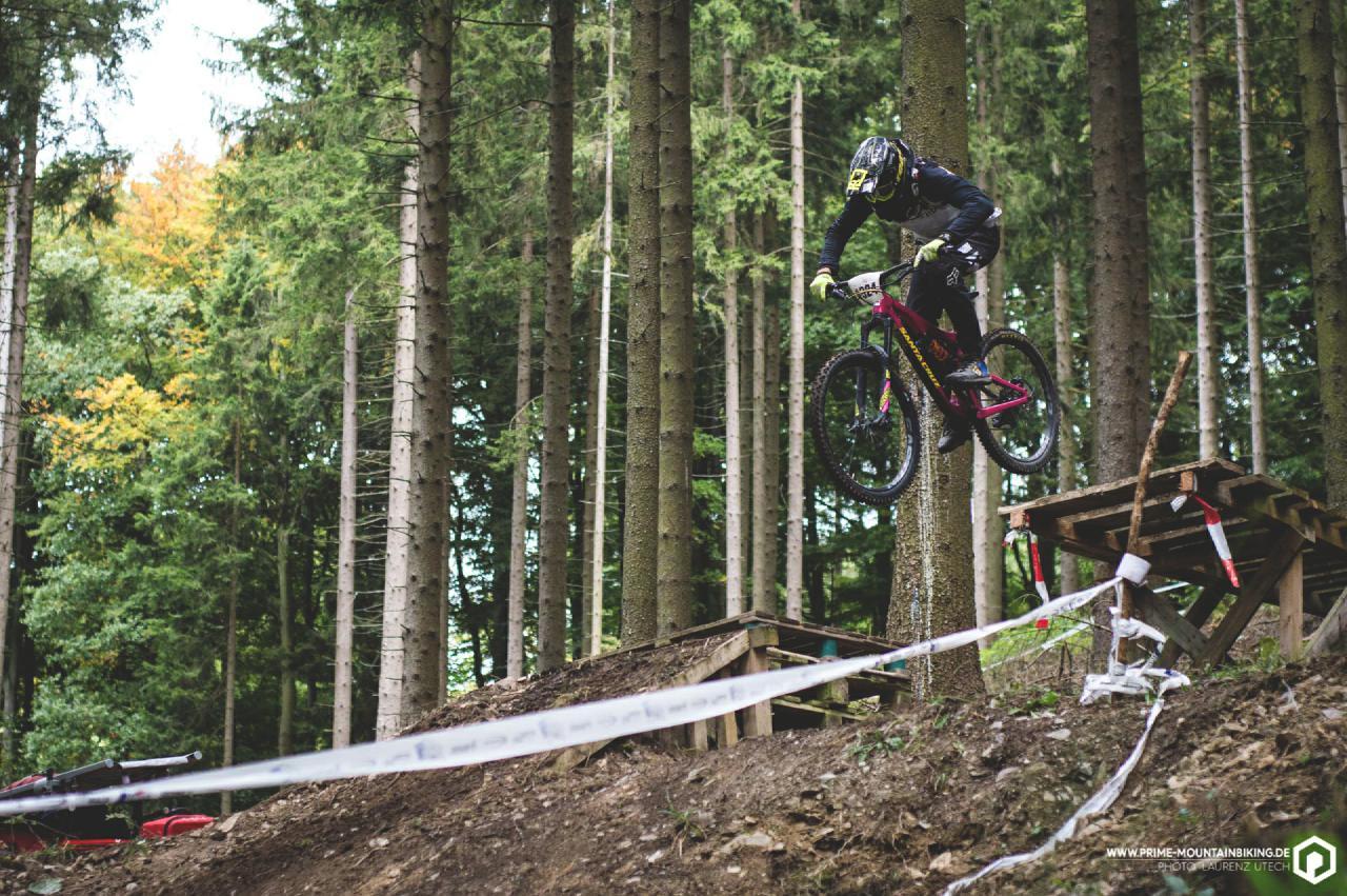 Die Loose Riders Youth ging in Form von Max Wegener als Favorit um Tages- und Gesamtsieg in Schmallenberg ins Rennen.