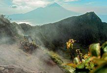 Biken auf Bali - so unbekannt wie beindruckend.