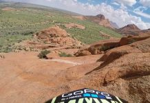 Kyle Jameson in Namibia bei Into The Dirt