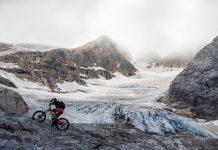 Richey Schley auf dem Rotwild R.G+ in den Dolomiten mit 200mm Federweg und Brose-E-Bike Antrieb