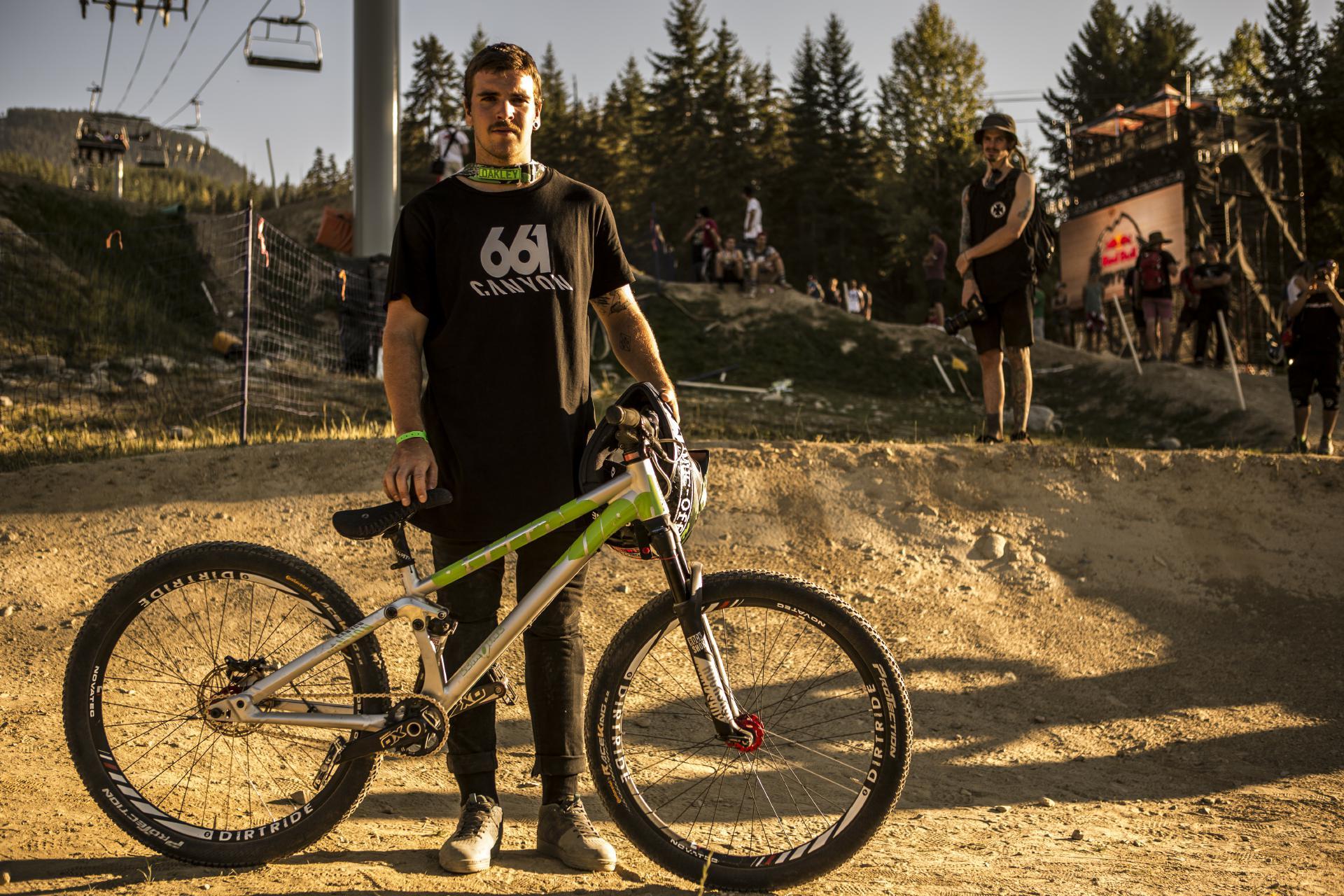 Auch Thomas Lemoine hat in der Saison 2016 hauptsächlich zum Erfolg des Canyon Teams beigetragen.