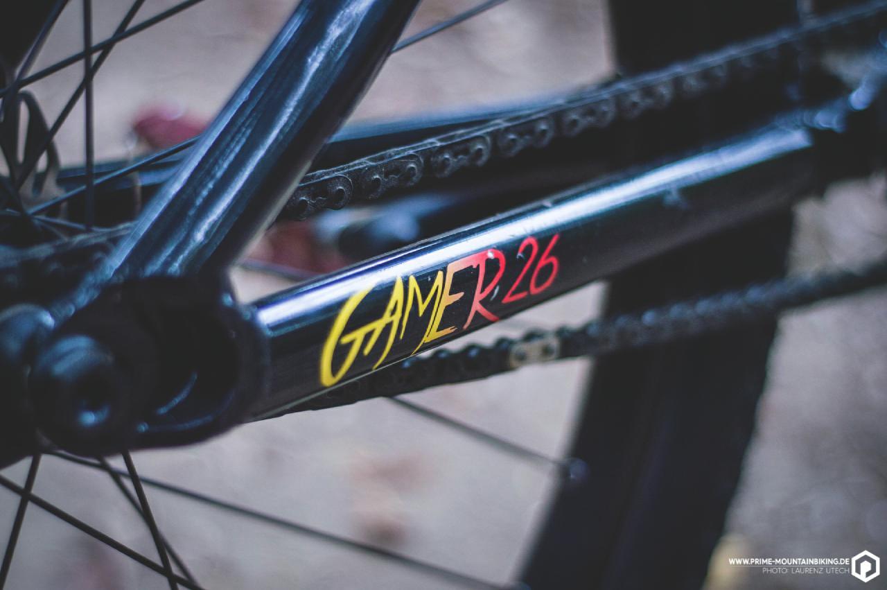 Das Gamer26 verfügt über einen Alurahmen mit bewährter Dartmoor Geometrie.