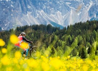 Moutainbiking im Eggental