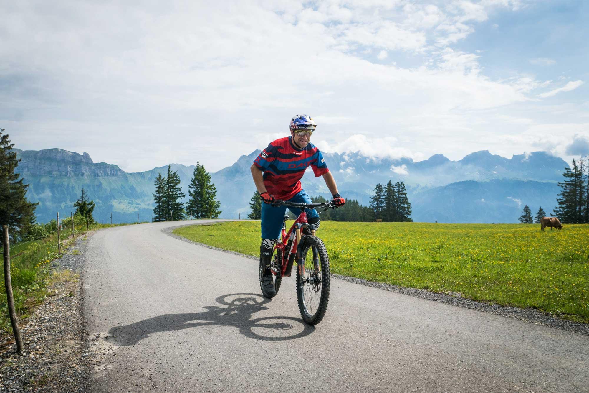 "René in ""seinen"" schweizer Bergen (Red Bull Content Pool)"