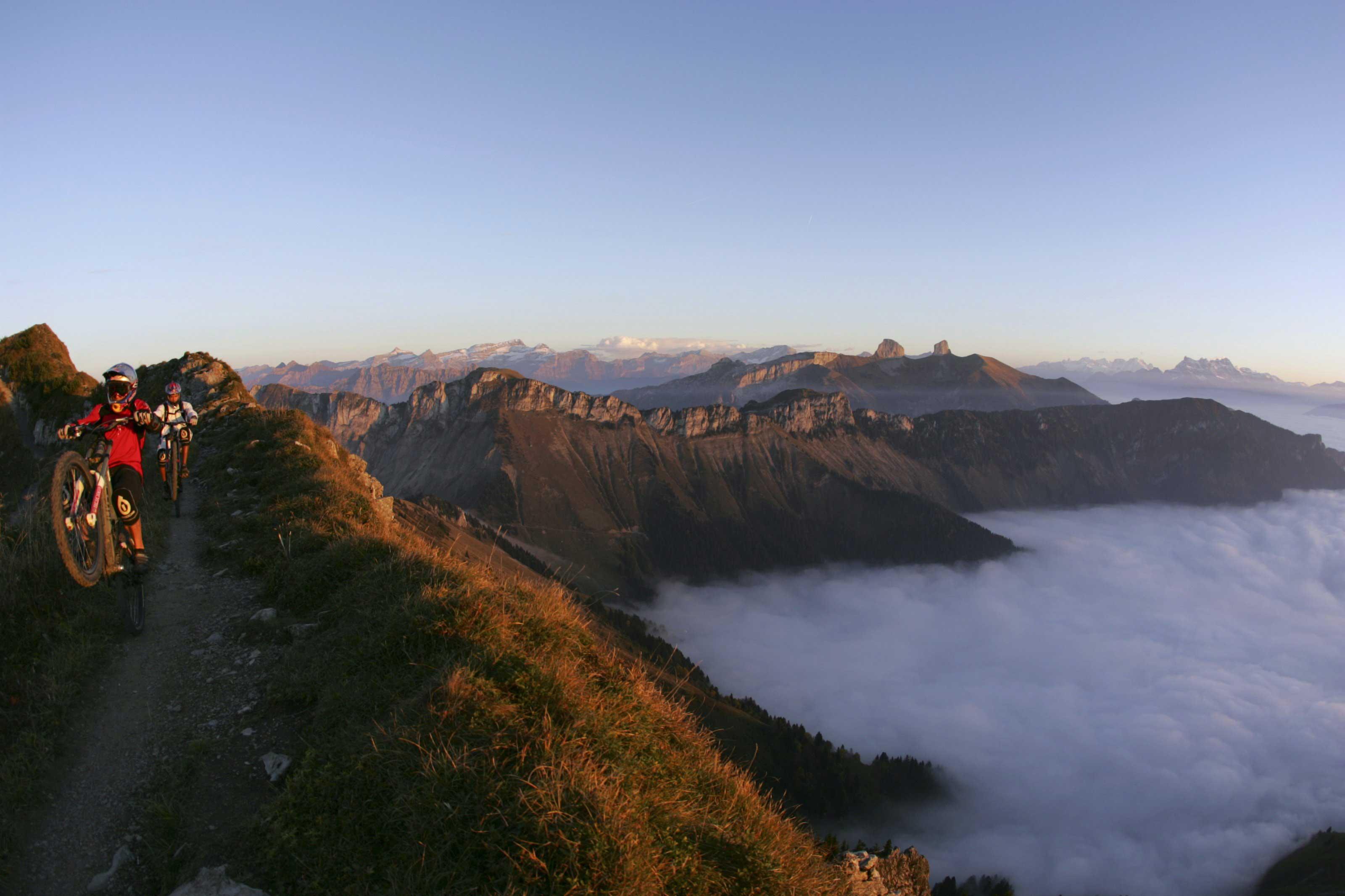 Die Zeit in den Bergen gibt René innere Ausgeglichenheit (Red Bull Content Pool)