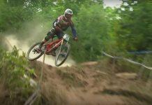 George Brannigan Crash DH Run