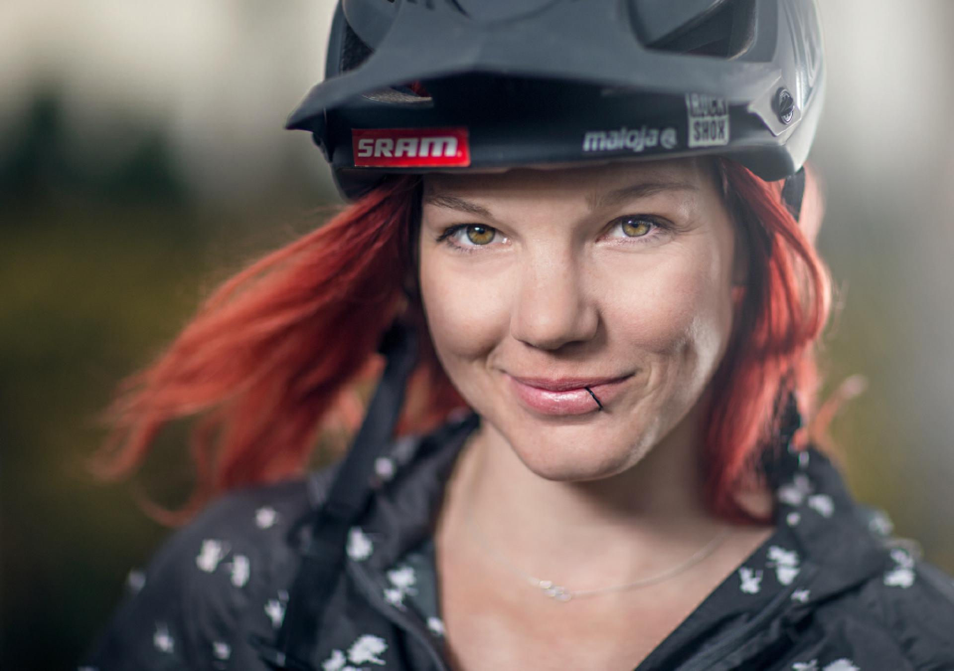 Angie Hohenwarter ist das neue weibliche Gesicht der Propain Family.