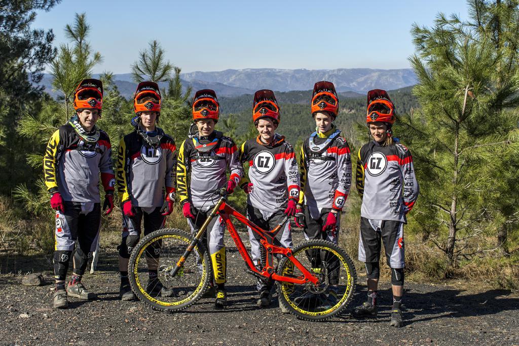 Das GZ-Rocky Mountain Team geht mit geballtem Talent an den Start und will auf internationaler Ebene angreifen.