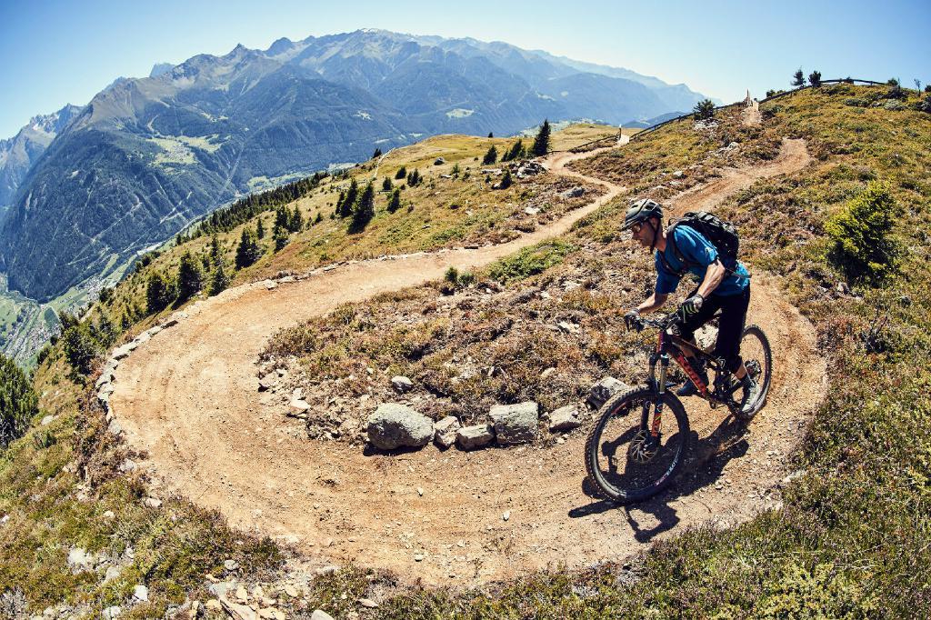 Der Frommestrail in Serfaus schlängelt sich auf traumhaften neuen Kilometern gen Tal!