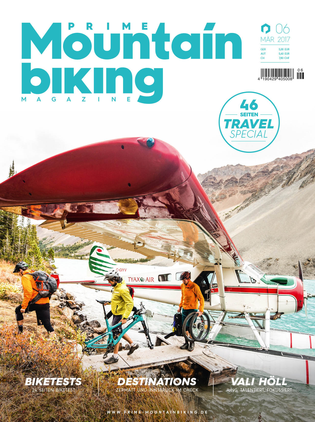 Prime Mountainbiking Magazine #06 Cover