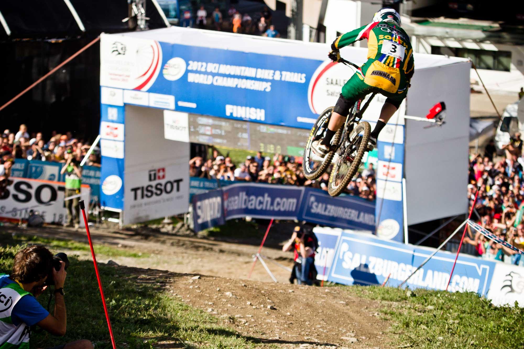 Downhill-WM 2020 in Saalfelden-Leogang Greg Minaar