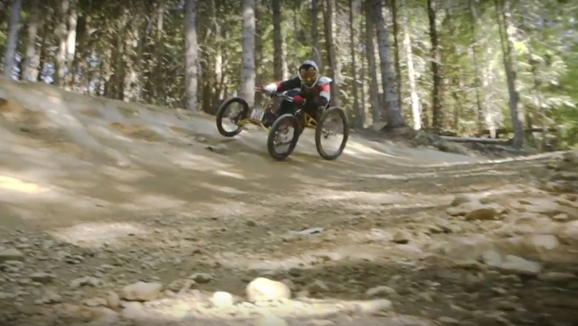 """Mountain Biking on Four Wheels Is Faster Than Two"""