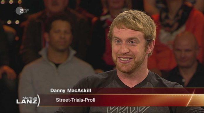 Danny MacAskill zu Gast bei Markus Lanz