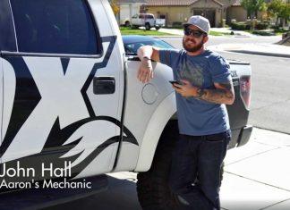 John Hall Mechaniker Aaron Gwin