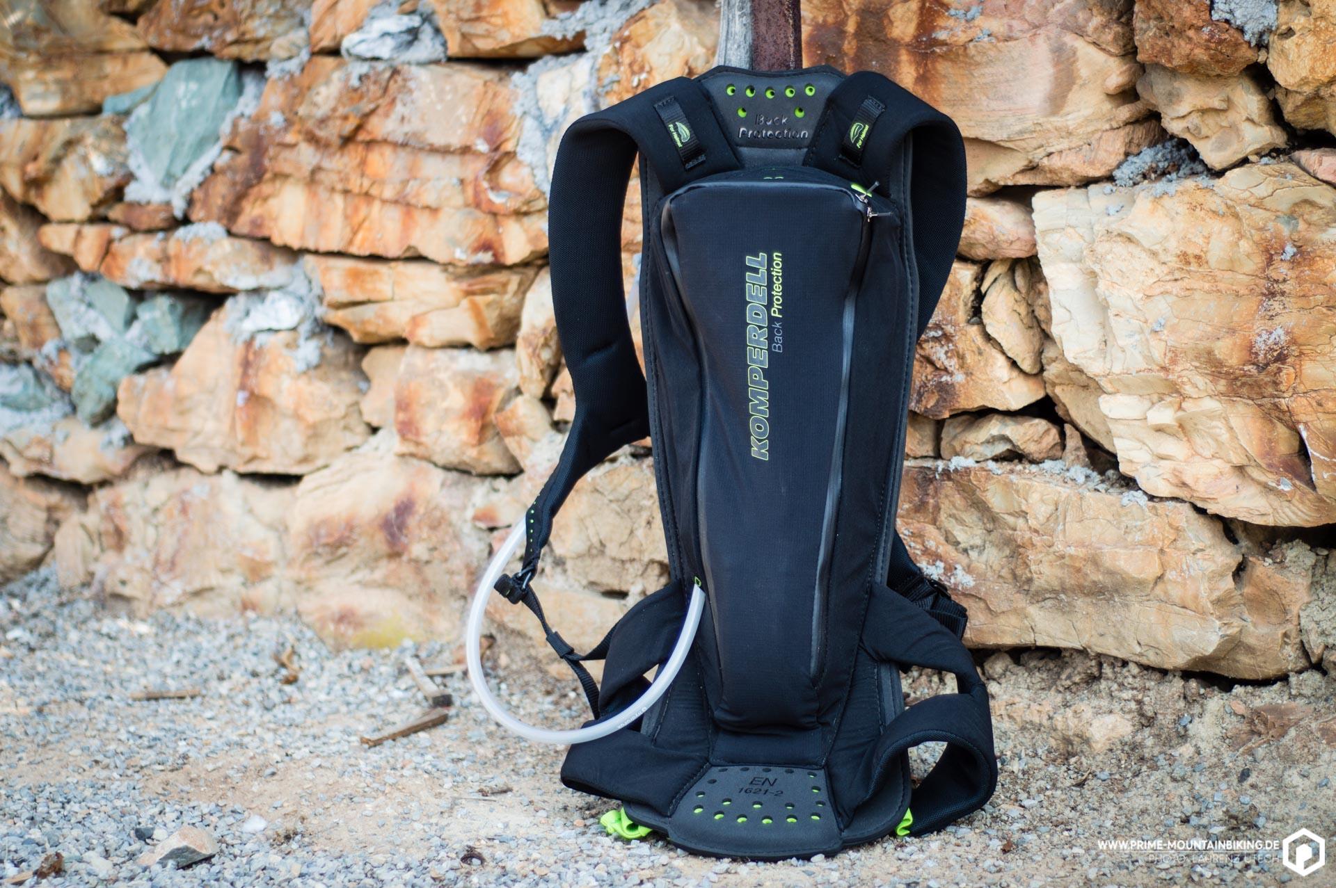 Der Komperdell Litepack ist ein leichter und flexibler Protektorrucksack, bei dem Sicherheit an erster Stelle steht.