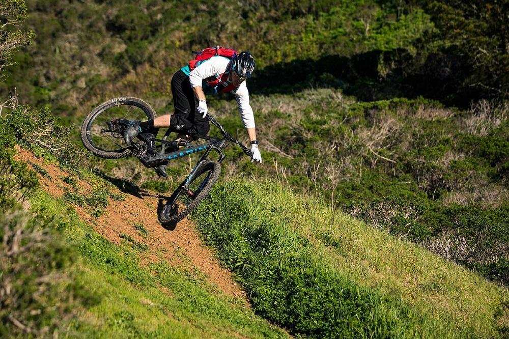 Marin Athlet Kyle Warner testete das Wolf Ridge bereits auf Herz und Nieren.